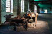 alter verrosteter Generator